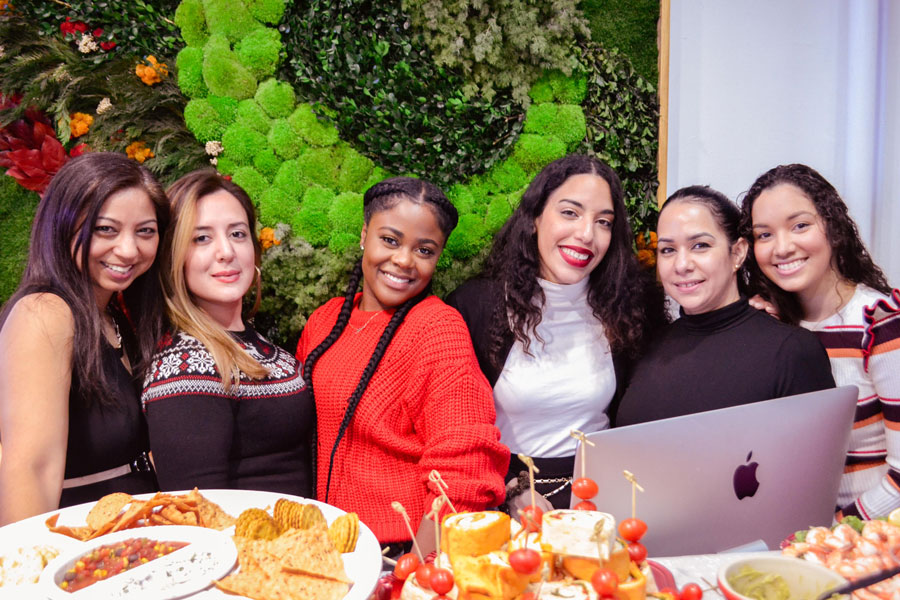 client holiday party uplift spa