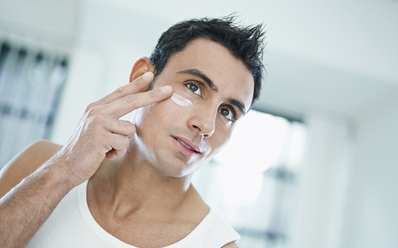 Gentlemen's face treatments