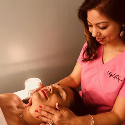 natural face lift massage uplift spa